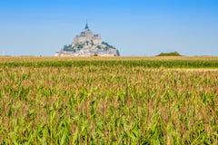 Santo Miguel - Normandía - Francia de Mont Foto de archivo libre de regalías