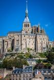 Santo Miguel - Normandía - Francia de Mont Fotografía de archivo