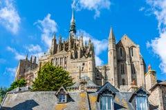 Santo Miguel - Normandía - Francia de Mont Fotos de archivo
