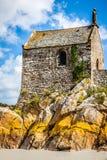 Santo Miguel - Normandía - Francia de Mont Foto de archivo