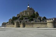 Santo Miguel, Normandía, Francia de Mont Imagen de archivo