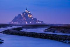 Santo Miguel, Normandía, Francia de Mont Imagen de archivo libre de regalías