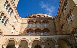 Santo Nectarios de la catedral de Aegina. Fotos de archivo libres de regalías