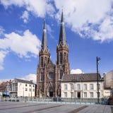 Santo neogótico Joseph Church, cuadrado de la colina, Tilburg, los Países Bajos Fotografía de archivo