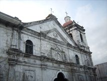 Santo Nino bazyliki kościół Cebu Fotografia Stock