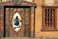 Santo Nino Chapel. The entryway to the Santo Nino Chapel in Chimayo, New Mexico Royalty Free Stock Images