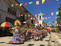 Santo nino parade Stock Photography