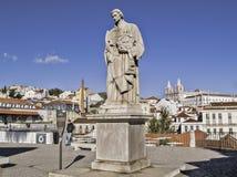 Santo patrón de Lisboa Imagen de archivo libre de regalías