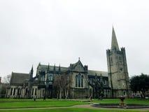 Santo Patrick Cathedral imagenes de archivo