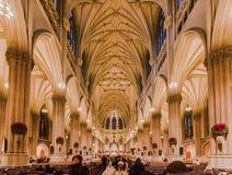 Santo Patrick Cathedral New York City Imagenes de archivo