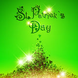 Santo Patrick Day Background ilustración del vector