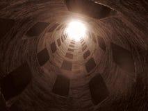 Santo Patrick Well en Orvieto Foto de archivo