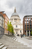 Santo Paul Cathedral en Londres Reino Unido Imágenes de archivo libres de regalías