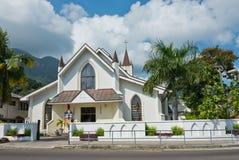 Santo Paul Cathedral en Victoria, isla de Mahe, Seychelles imágenes de archivo libres de regalías