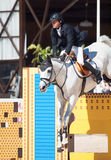SANTO PETERSBURGO 6 DE JULIO: Rider Mikhail Safronov en Copperphild Imagen de archivo