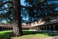 Santo Pierre Abbey en Moissac, Francia Foto de archivo libre de regalías