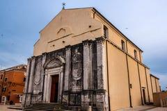 Santo Rocco Church, Umag, Croacia Foto de archivo libre de regalías