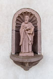 Santo Romano el Mélodo - San Luis Church Historic Landmark Foto de archivo