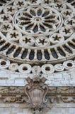 Santo Rufino Cathedral en Assisi Imagenes de archivo