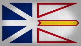Santo San Cristobal y bandera de Nevis stock de ilustración