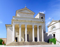 santo san marino Италии del базилики стоковое изображение rf