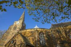 Santo Sepulcro en Northampton imagen de archivo libre de regalías