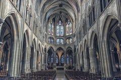 Santo-Severin de la iglesia en París foto de archivo libre de regalías