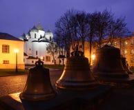 Santo Sophia Cathedral en Veliky Novgorod Foto de archivo