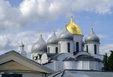 Santo Sophia Cathedral en Veliky Novgorod Imagen de archivo