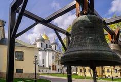 Santo Sophia Cathedral en Veliky Novgorod Imagen de archivo libre de regalías