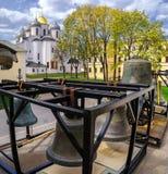 Santo Sophia Cathedral en Veliky Novgorod Foto de archivo libre de regalías