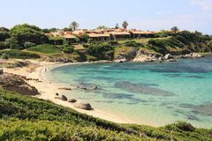 santo stefano пляжа Стоковая Фотография RF