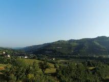 Santo Stefano Belbo 2 Foto de archivo libre de regalías