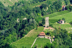 Santo Stefano Belbo, Langhe Stock Photo