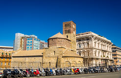 Santo Stefano church in Genoa Royalty Free Stock Photos