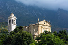 Santo Stefano church in Malcesine Stock Photo