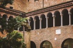 Santo Stefano cloisters Royalty Free Stock Image