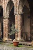 Santo Stefano columns Stock Images