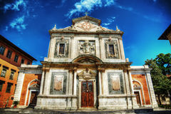 Santo Stefano dei Cavalieri church in hdr Royalty Free Stock Image
