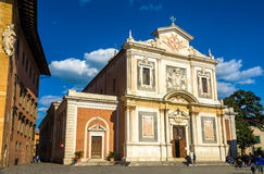 Santo Stefano dei Cavalieri church in Pisa Royalty Free Stock Photo