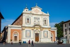 Santo Stefano deiCavalieri kyrka av Pisa, Italien Arkivbild