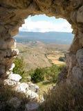 Santo Stefano di Sessanio Abruzzo Italien arkivbild