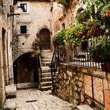 Santo Stefano di Sessanio (Italien) Royaltyfri Foto