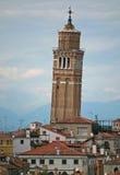 Santo Stefano dzwonnica, Wenecja Włochy Obraz Stock