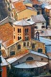 Santo Stefano kyrka i Verona Italien Royaltyfri Foto