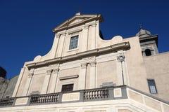 Santo Stefano Protomartire Bracciano, Italien Arkivbilder
