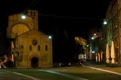 Santo Stefano-Quadrat, Bologna Lizenzfreies Stockfoto