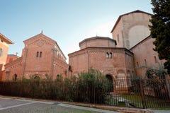 Santo Stefano's Basilica in Bologna, Italy Stock Photo