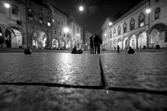 Santo stefano square , in bologna Royalty Free Stock Photo