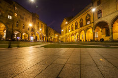 Santo stefano square , in bologna. A night in santo stefano square , in bologna Stock Photo